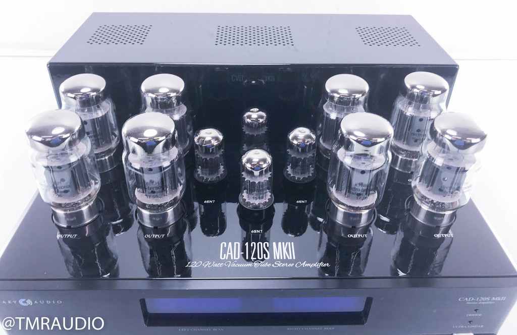 Cary Audio CAD-120S MKII Tube Stereo Power Amplifier; Upgrades