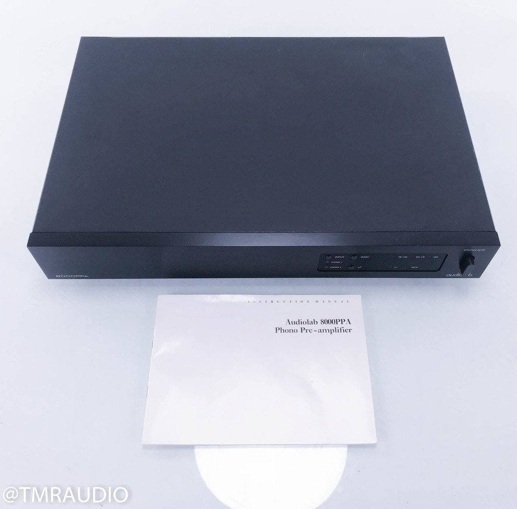 Audiolab 8000PPA MM / MC Phono Preamplifier / Stage