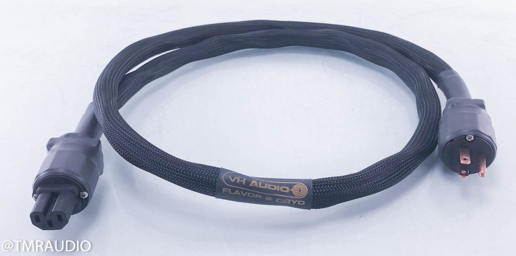 VH Audio Flavor 2 Cryo Power Cable; Single 5 ft AC Cord