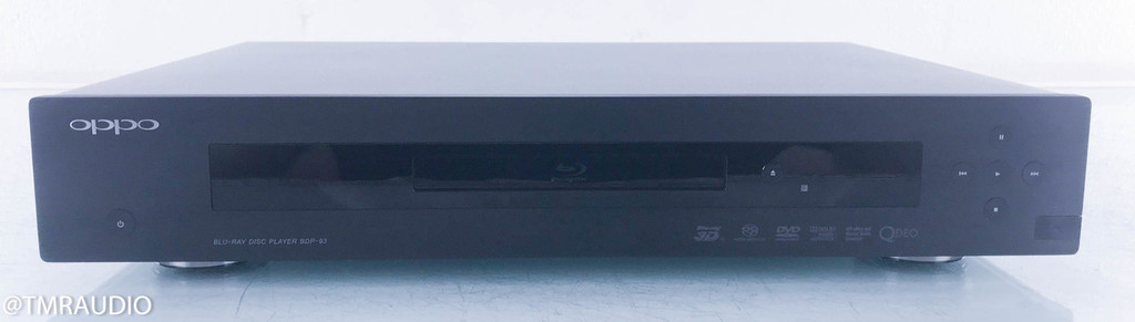 Oppo BDP-93 Universal 3D Blu-ray Player; SACD / CD / DVD / 3D Blu-ray
