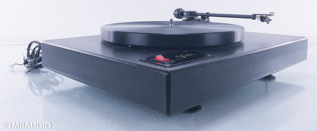 SOTA Comet Turntable; Blue Point Special Cartridge (AS-IS One Channel Low)