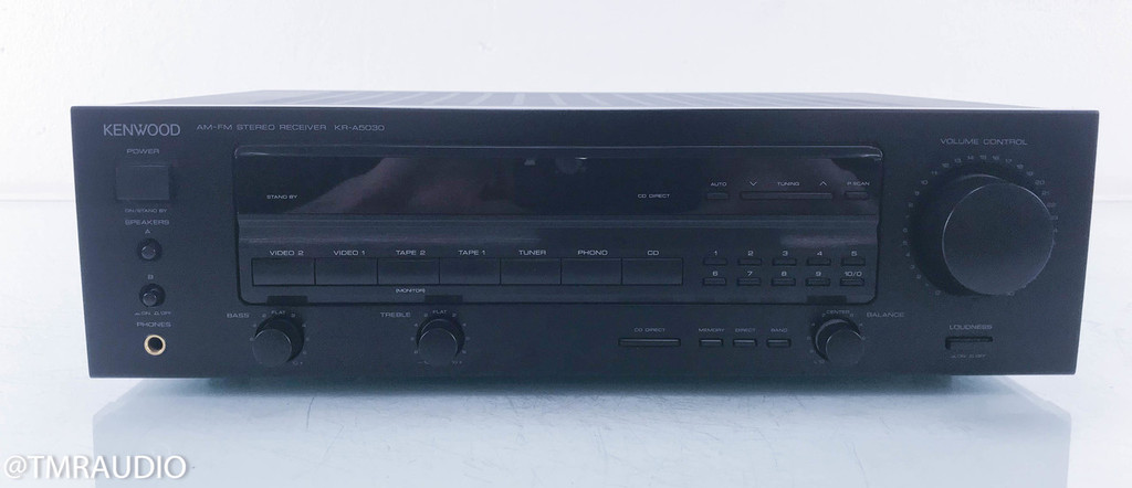 Kenwood KR-A5030 AM-FM Stereo Receiver (No Remote)