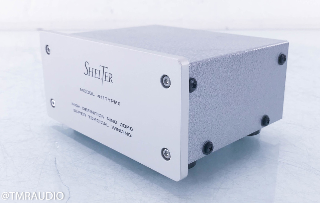 Shelter 411 Type II Moving Coil Step Up Transformer; Type 2; Phono