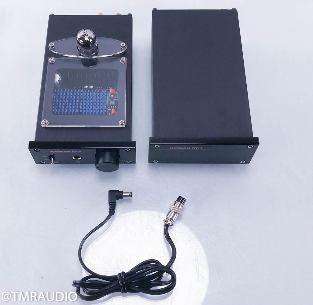 Hifiman EF5 Hybrid Headphone Amplifier; DY-1 Power Supply