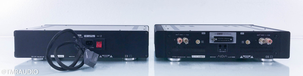 Aloia ST 15.01 Stereo Power Amplifier; PSU 15.01i Inductive Power Supply