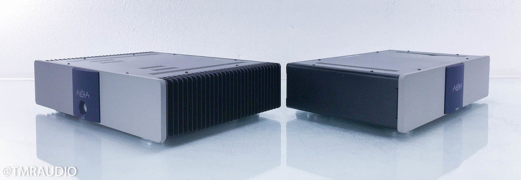 Aloia ST 15.01 Stereo Power Amplifier; PSU 15.01i Inductive Power Supply (2/2)