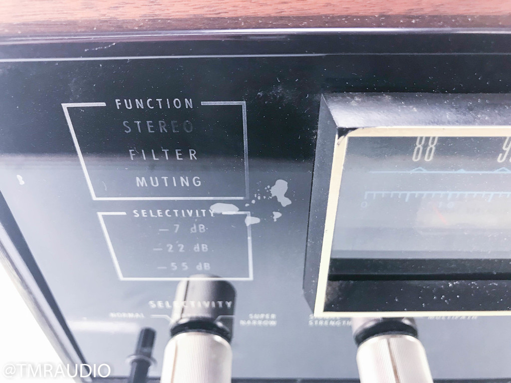 McIntosh MR78 Vintage FM Tuner; MR-78 (AS-IS; No output)