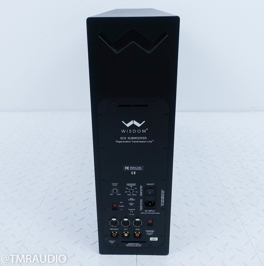 Wisdom SCS Powered Subwoofer w/ Mini DSP-1 RTL Signal Processor