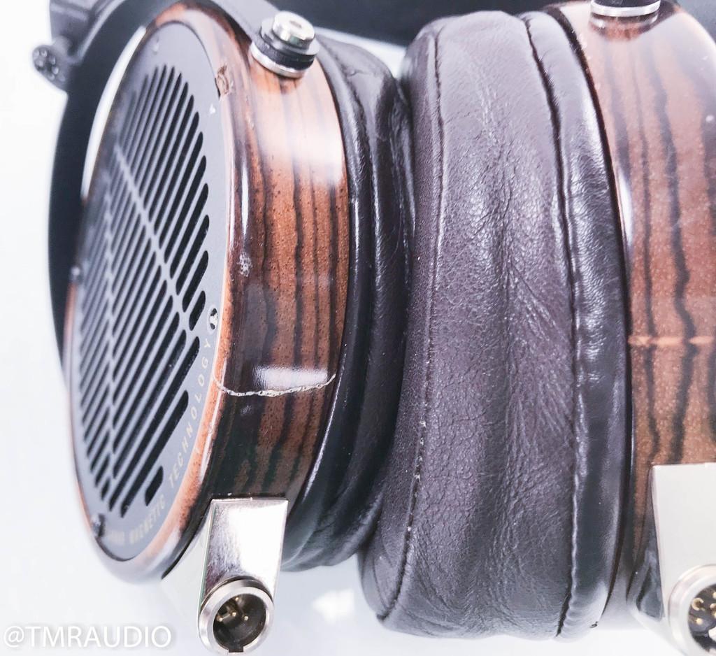 Audeze LCD-3 High Performance Planar Magnetic Headphones; Zebrano