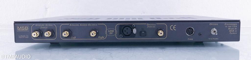 MSB Gold Link DAC III; D/A Converter