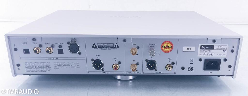 Esoteric D-07 DAC; D/A Converter; D07