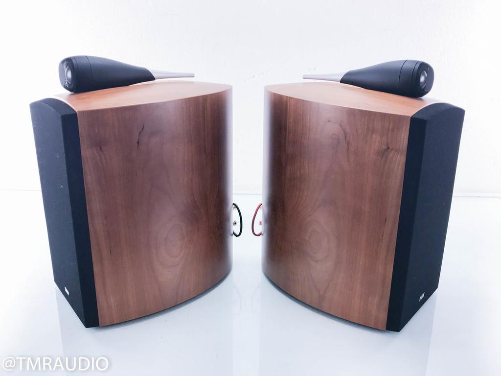 B&W Nautilus 805 Bookshelf Speakers; Cherry Pair