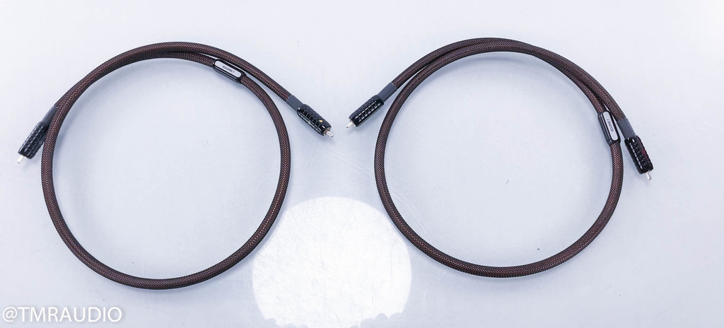 Wireworld Eclipse 7 RCA Cables; 1m Pair Interconnects