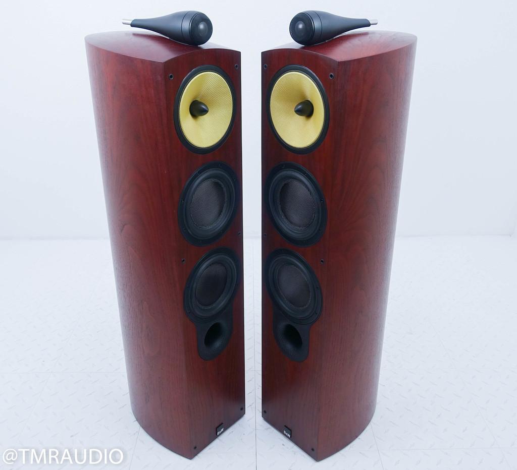 B&W 804S Floorstanding Speakers; Rosewood Pair