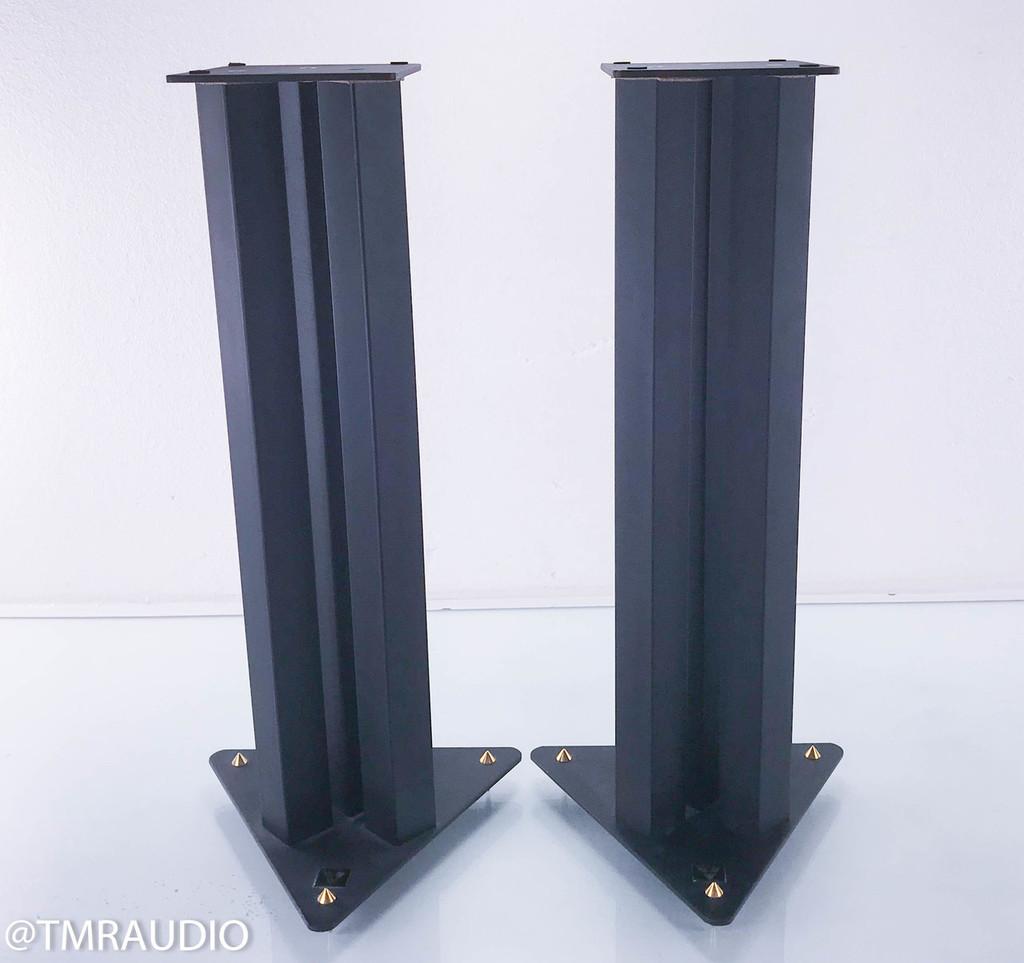 """Lovan 29"""" Speaker Stands; Black Pair; Sand Filled"""