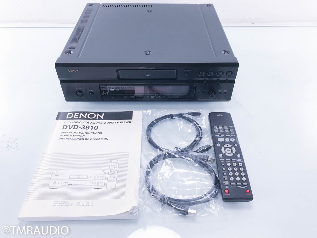 Denon DVD-3910 DVD / SACD Player; (AS-IS; Does not read discs)