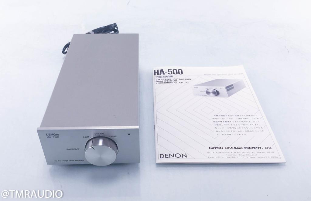 Denon HA-500 MC Head Amp; MC Phono Pre-Preamplifier (AS-IS; Gain issues)