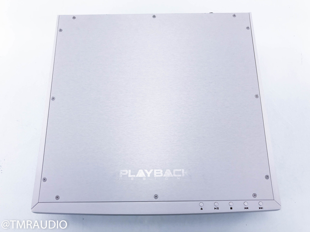 Playback Designs MPS-5 SACD / CD Player; MPS5 w/ USB-X Adapter