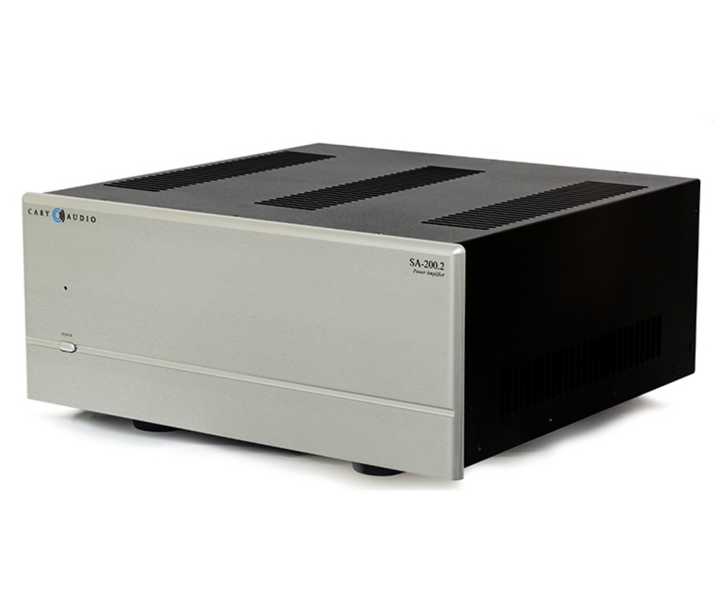 Cary SA-200.2 Stereo Power Amplifier; Silver (New)