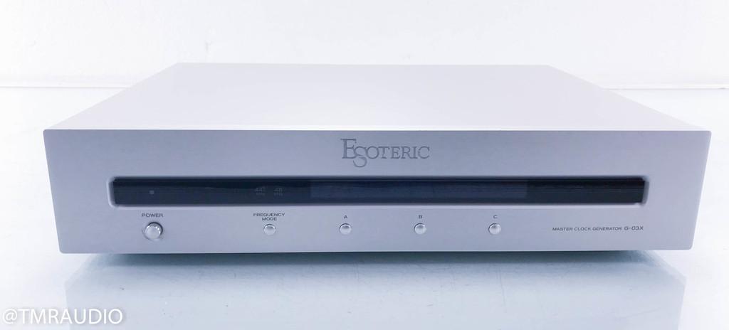 Esoteric G-03X Master Clock Generator; Word Sync
