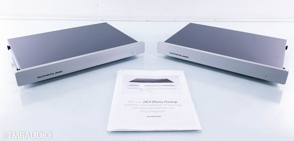 Sutherland MCX Moving Coil Phono Preamplifier; Dual Mono MC Phono Stage