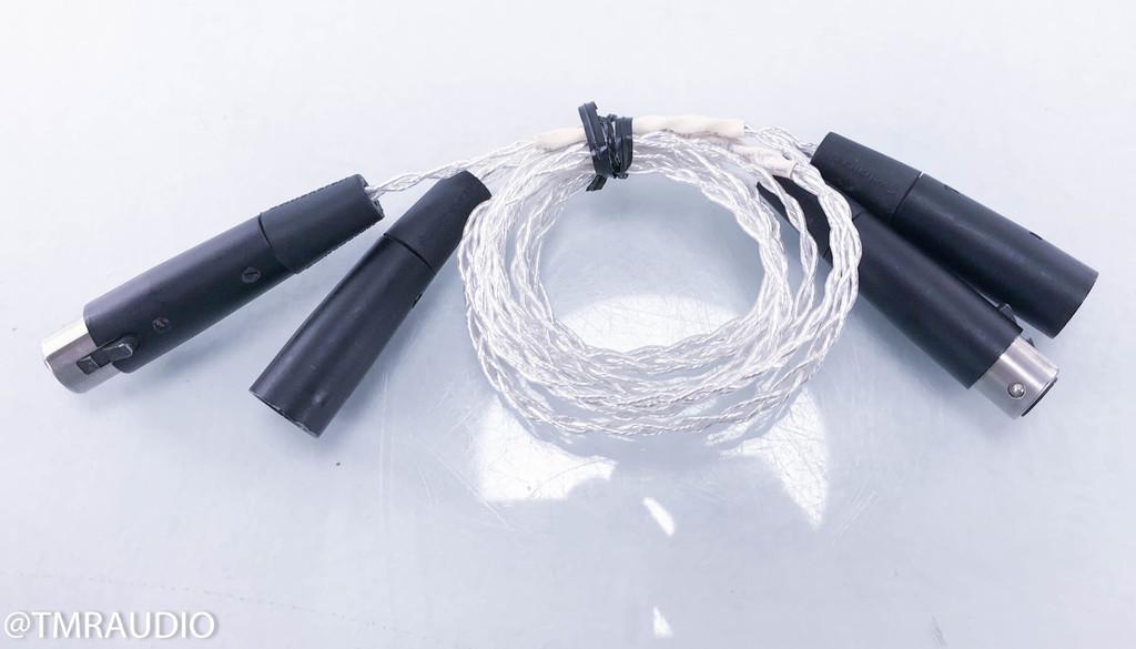 Kimber Kable KCAG XLR Cables; 1m Pair Balanced Interconnects