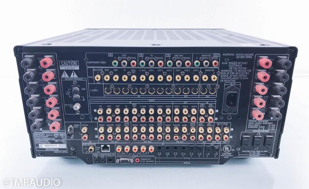 Denon AVR-5803 7.1 Channel Home Theater Receiver; (No Remote)