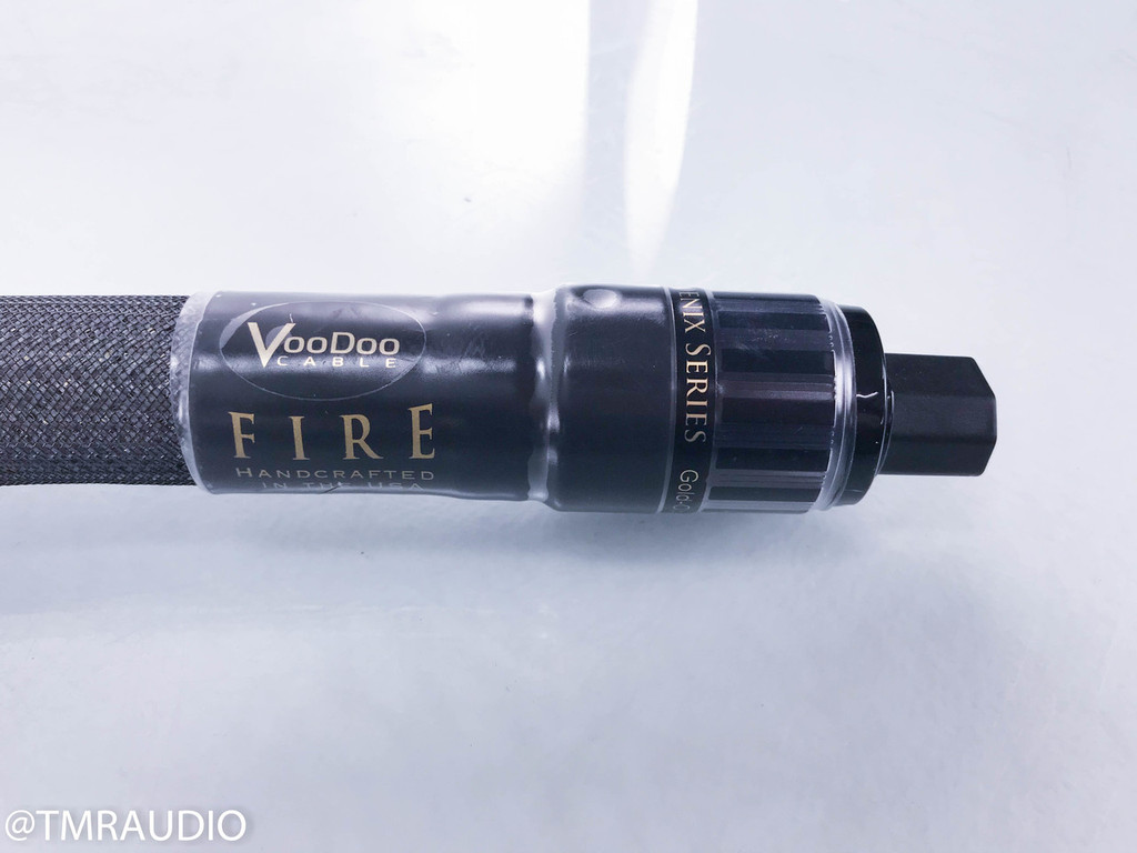 Voodoo Fire Power Cable; 6ft AC Cord; Phoenix Series (New / Open Box)
