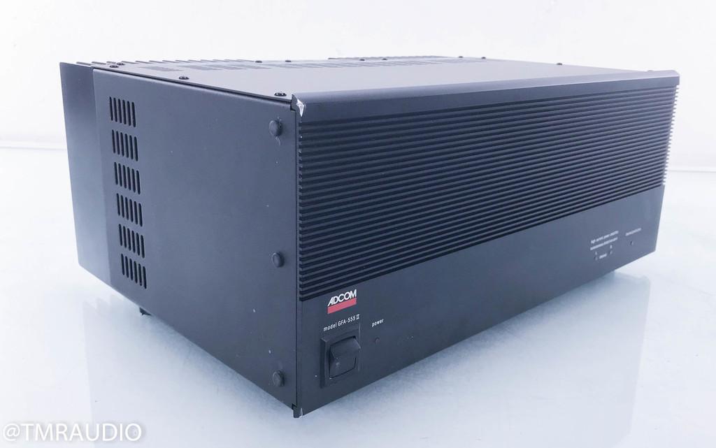 Adcom GFA-555 II Stereo Power Amplifier; MKII (2/2)