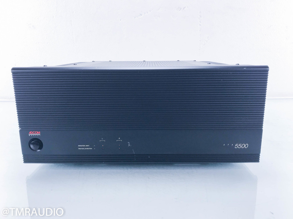 Adcom GFA-5500 Stereo Power Amplifier (2/2)