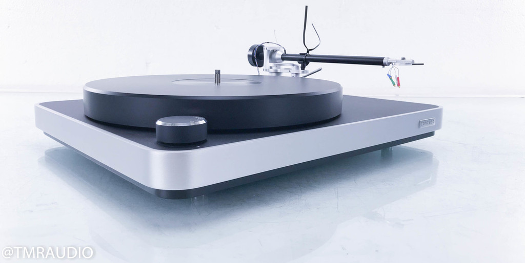 Clearaudio Concept Turntable; Concept Tonearm (No cartridge)