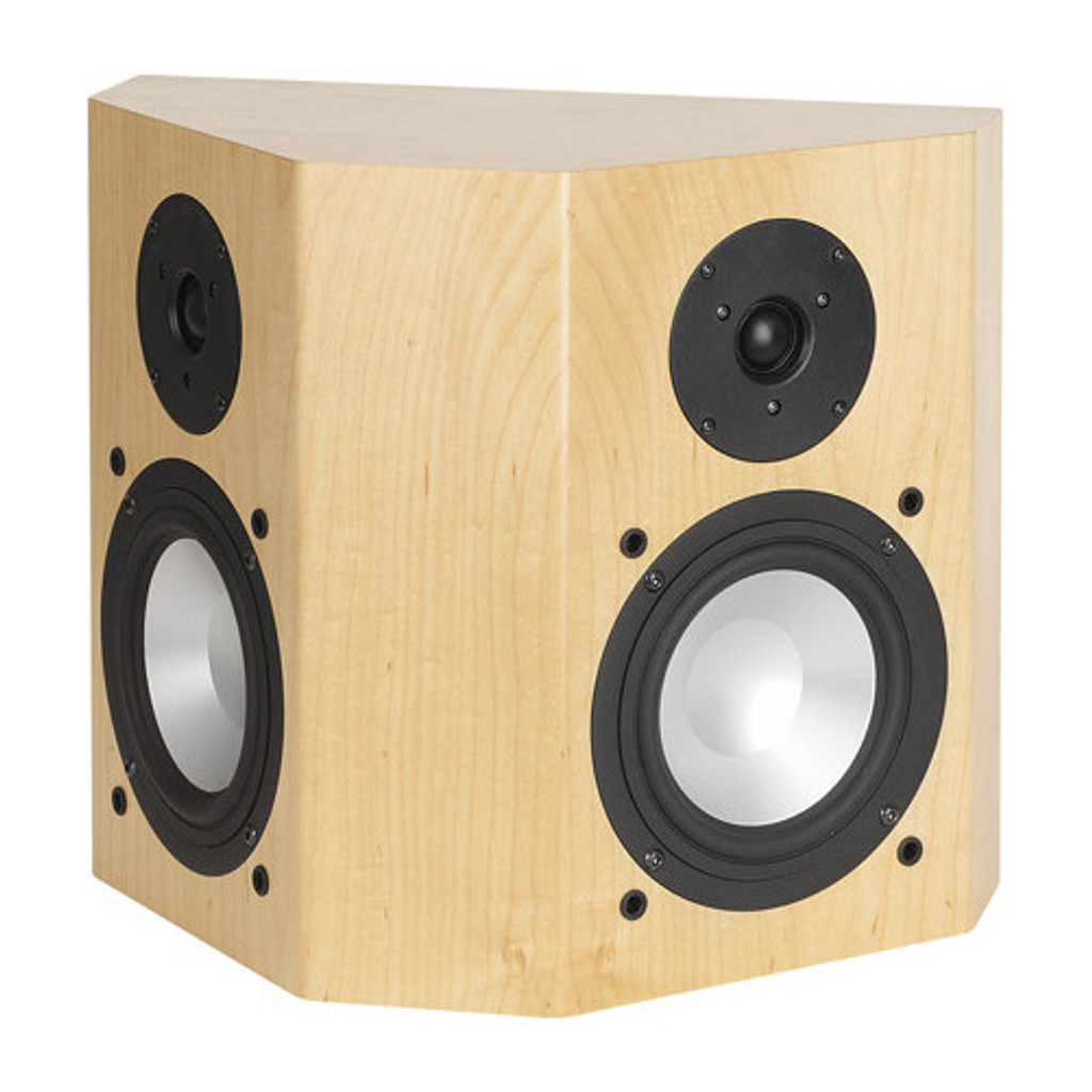 RBH 66-SE On-Wall Surround Speakers; White Oak Pair; 66SE (New)