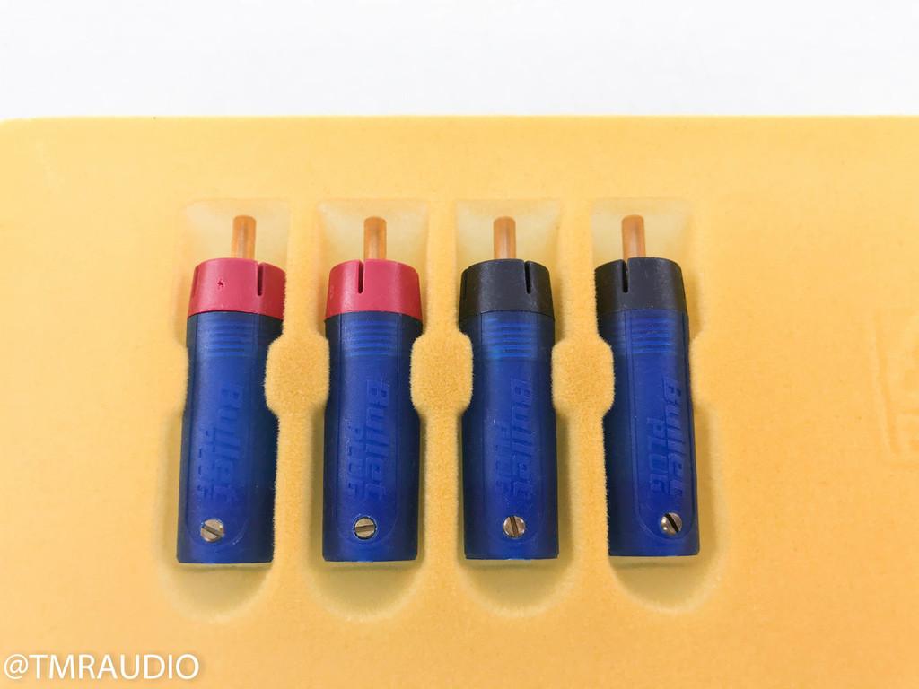Eichmann Bullet Plug RCA Plugs; Set of 4; ETI Research