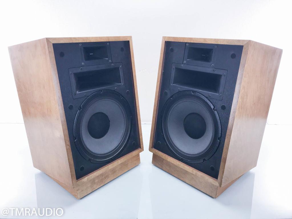 Klipsch Heresy HII Vintage Speakers; Heritage II; Blonde Cherry Pair (Brown)