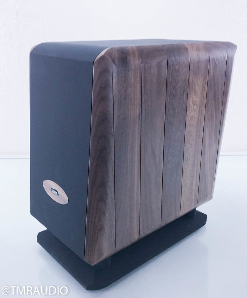 Chario SW1 Powered Subwoofer; Walnut; SW-1 (New Old Stock)