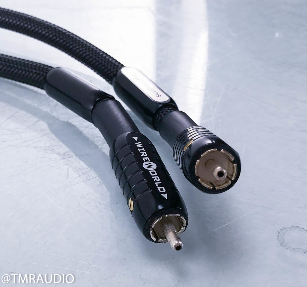 Wireworld Silver Eclipse 7 RCA Cables; 1m Pair Interconnects