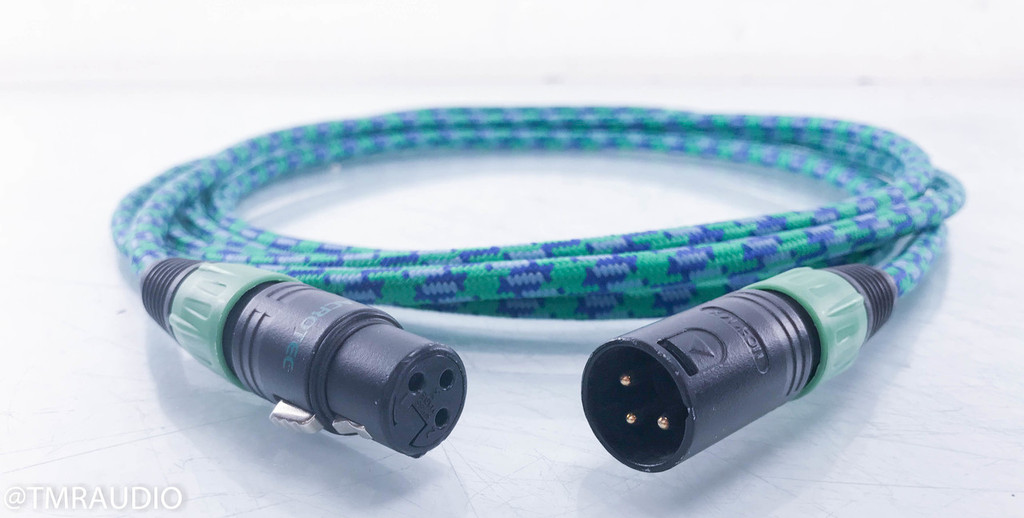 Acrotec 6N-A2030 XLR Cables; 3.5m Pair Balanced Interconnects