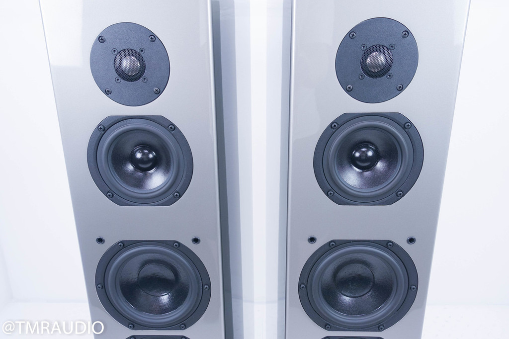 Aerial Acoustics Model 9 Floorstanding Speakers; Titanium Finish Pair