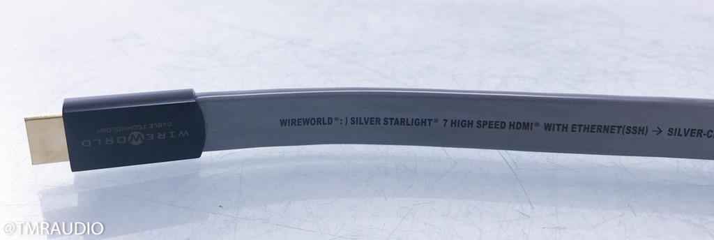 Wireworld Silver Starlight 7 HDMI Cable; Single 0.5m Interconnect