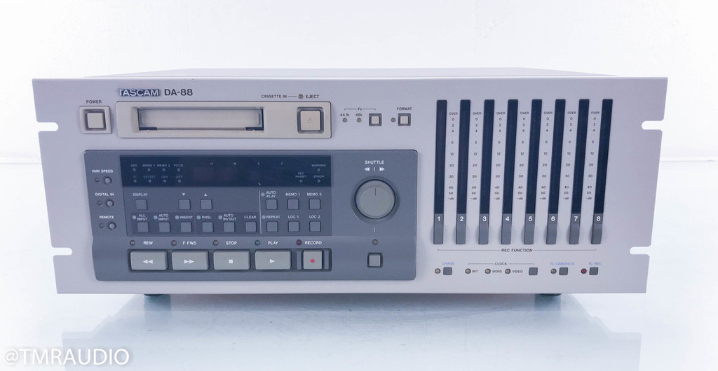 Tascam DA-88 Cassette Deck; Tape Recorder; DA88; AS-IS (Untested)