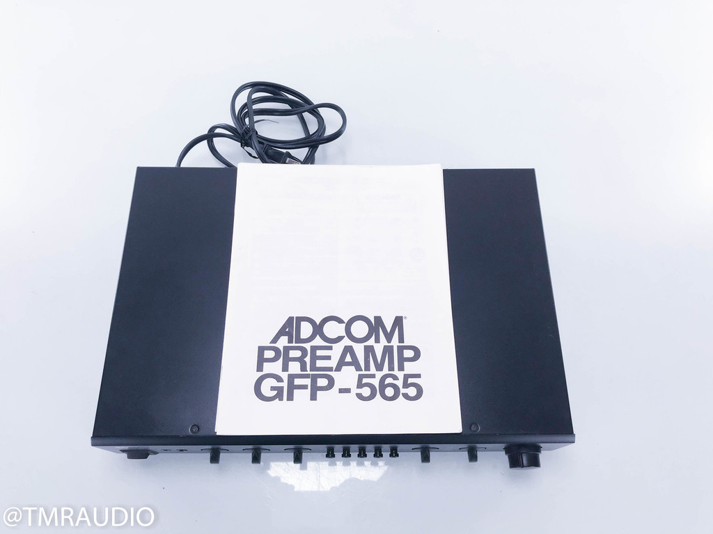 Adcom GFP-565 Stereo Preamplifier; MM Phono
