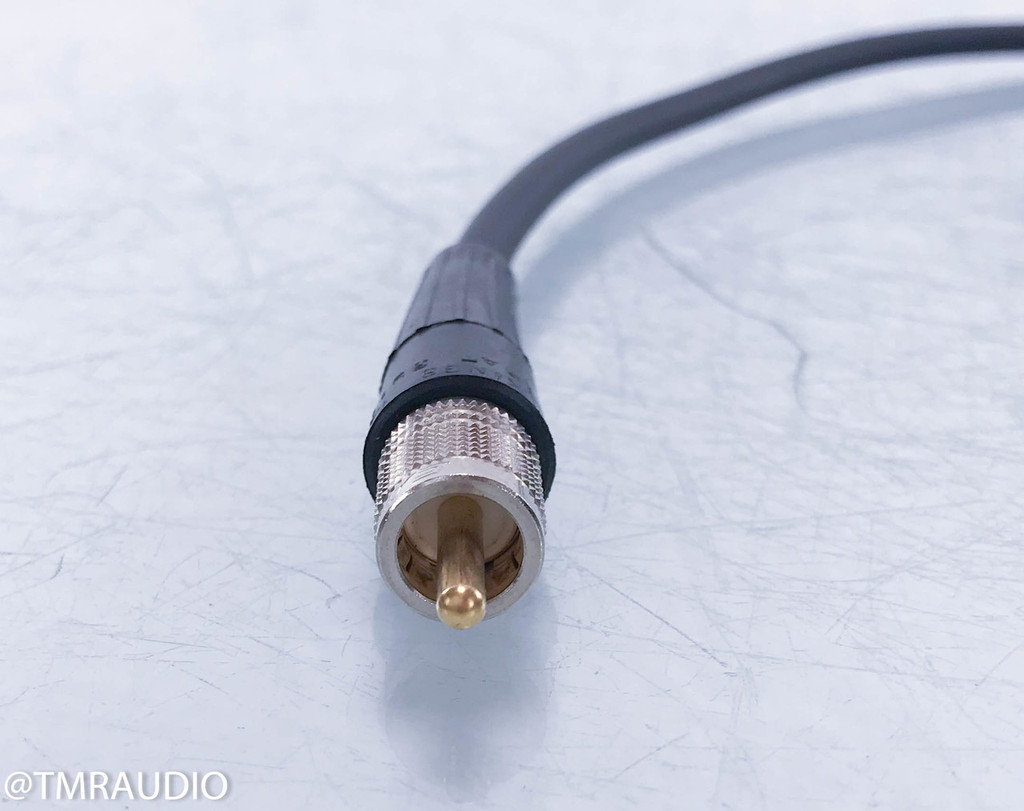 Canare LV-61S RCA Digital Coaxial Cable; Single 1m Interconnect