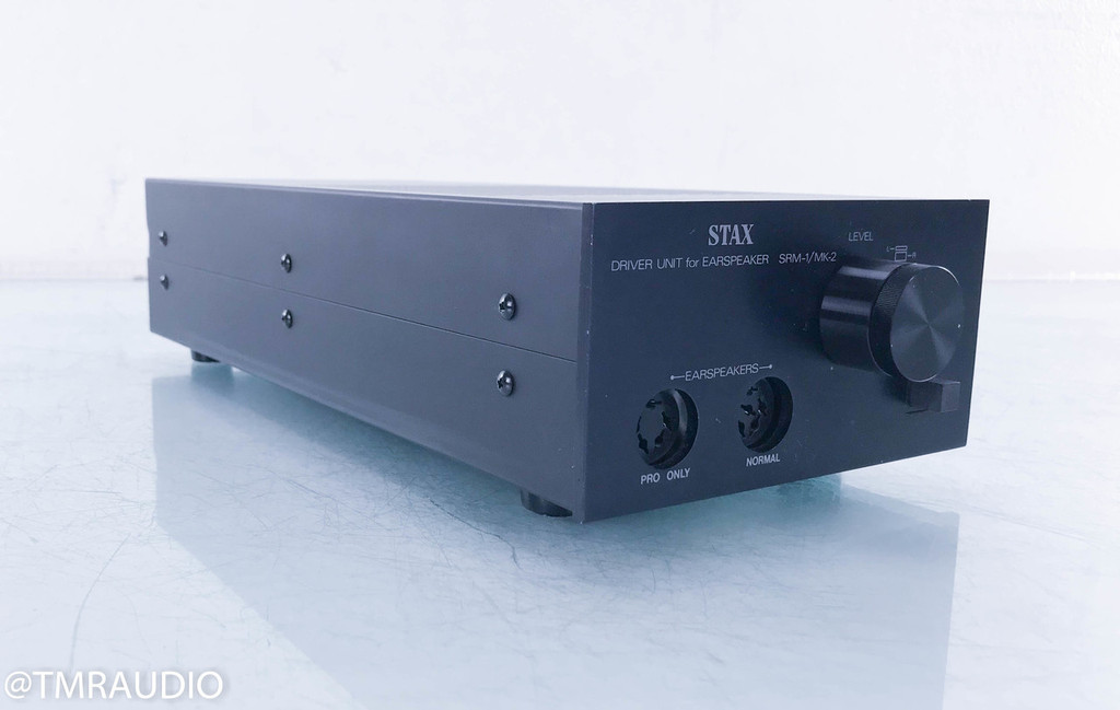 Stax SR Lambda Electrostatic Headphones; SRM-1/Mk-2 Professional Amplifier