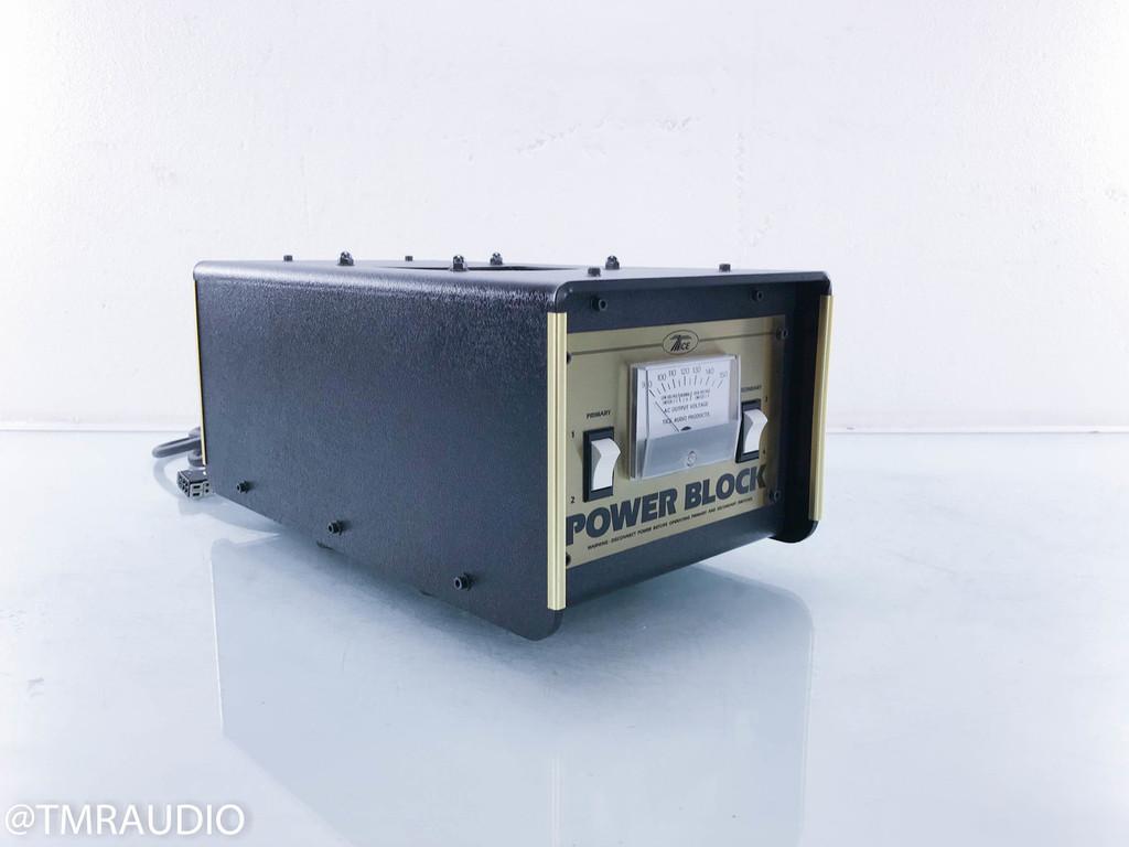 Tice Power Block AC Power Line Conditioner