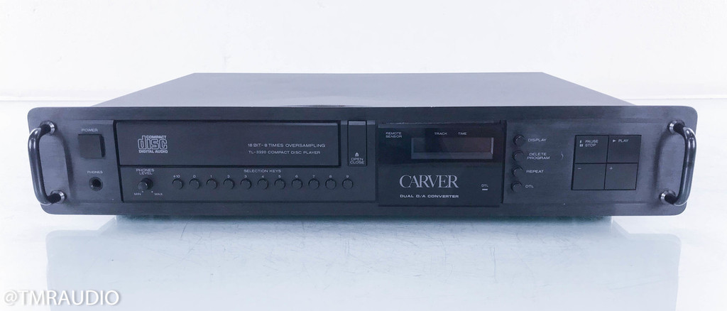 Carver TL-3220 Vintage CD Player; TL3220