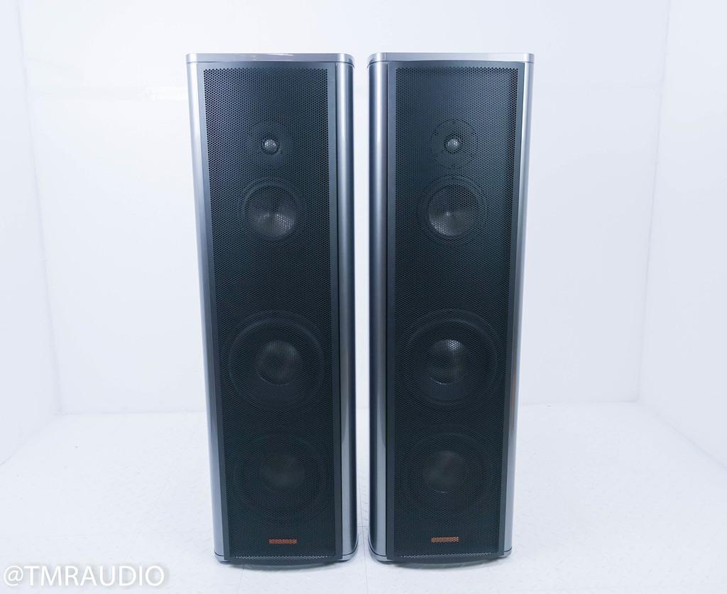 Magico S5 Floorstanding Speakers; Gloss Gray Pair