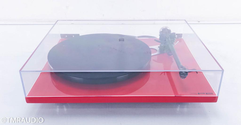 Rega RP6 Turntable; RB303 Tonearm; Rega Apheta MC Cartridge; Red
