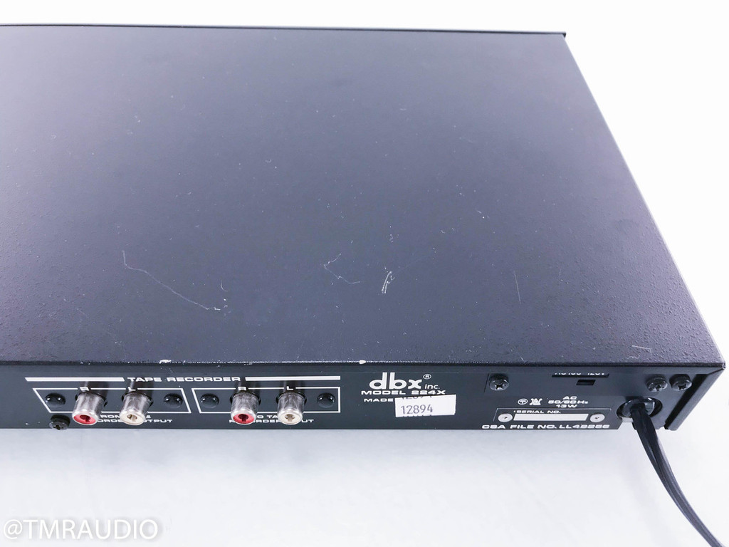 DBX 224X Type II Tape Noise Reduction Processor