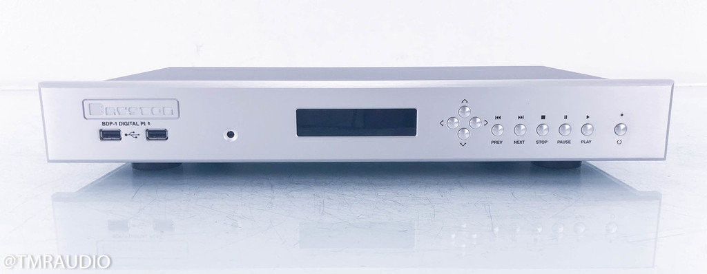 "Bryston BDP-1 Network Streamer / Server; Silver; 17"""