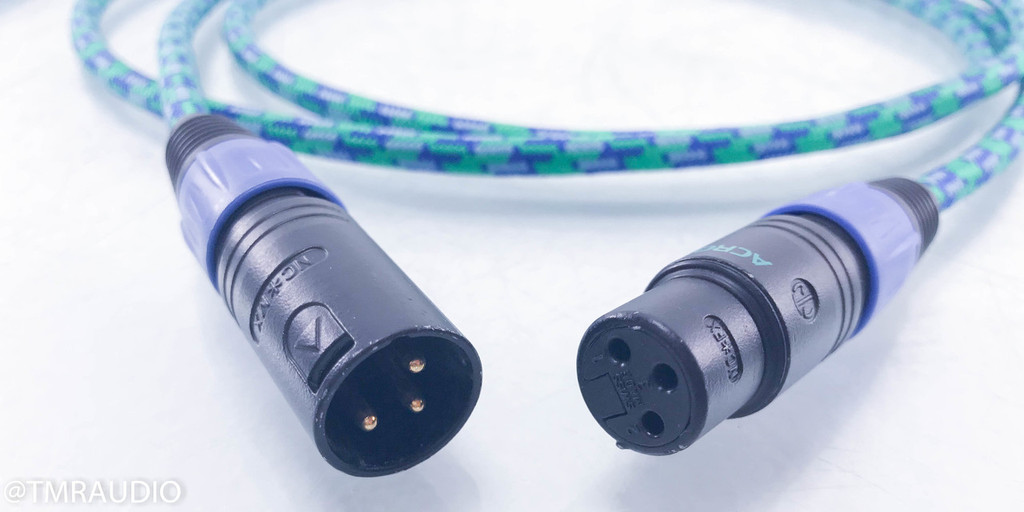 Acrotec 6N-A-2030 XLR Cables; 2m Pair Interconnects